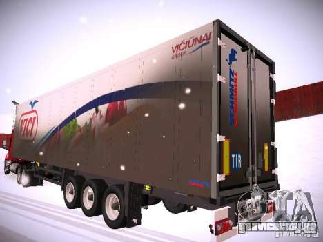 Прицеп к DAF XF105 для GTA San Andreas