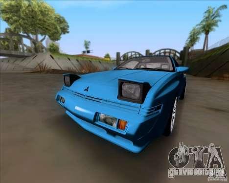 Mitsubishi Starion для GTA San Andreas вид слева