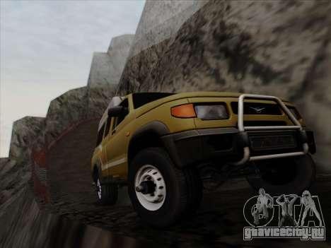 УАЗ 2760 для GTA San Andreas вид сверху