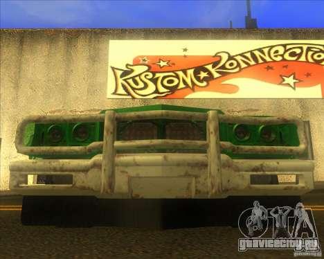 Jupiter Eagleray MK5 для GTA San Andreas вид сверху