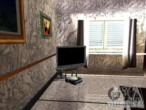 Новый телевизор для GTA San Andreas второй скриншот