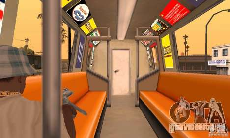 Liberty City Train DB для GTA San Andreas вид справа