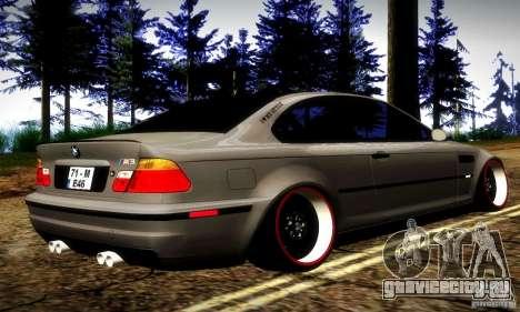 BMW M3 JDM Tuning для GTA San Andreas вид справа