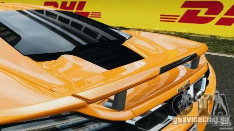 McLaren MP4-12C v1.0 [EPM] для GTA 4 колёса