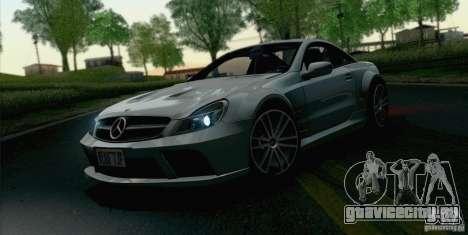Mercedes-Benz SL65 AMG Black Series для GTA San Andreas вид справа
