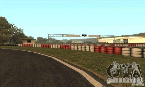 Трасса GOKART Route 2 для GTA San Andreas пятый скриншот
