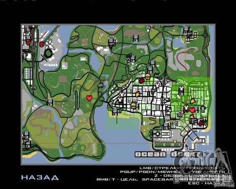 Работа пилотом для GTA San Andreas шестой скриншот