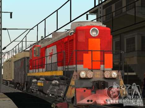 ЖД мод IV final для GTA San Andreas третий скриншот