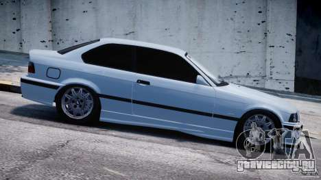 BMW M3 e36 для GTA 4 вид сбоку