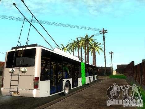 Троллейбус ЛАЗ E301 для GTA San Andreas вид справа