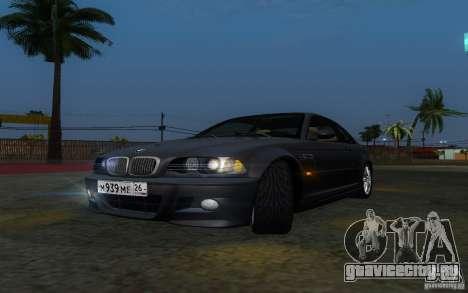 BMW M3 E46 для GTA San Andreas вид сбоку