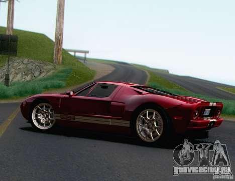 Ford GT 2005 для GTA San Andreas вид слева