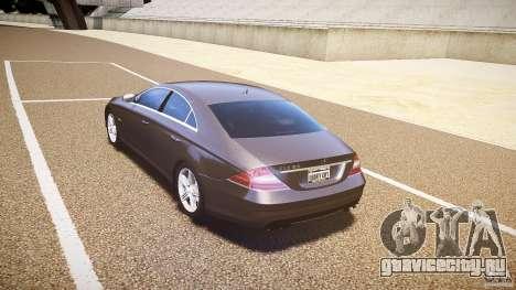Mercedes-Benz CLS 63 для GTA 4 вид справа