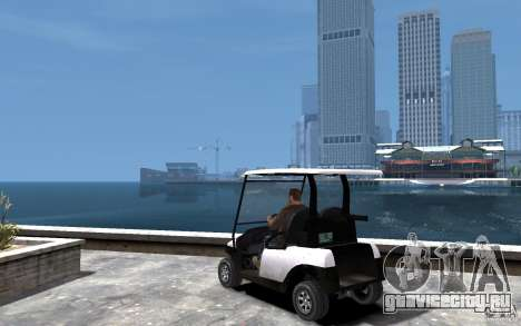 Caddy To IV для GTA 4 вид сзади слева