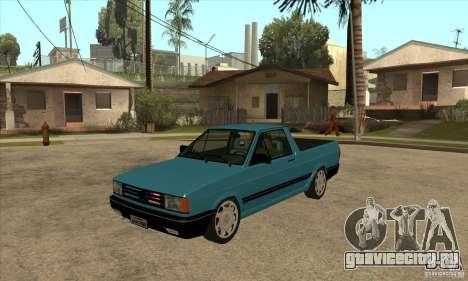 VW Saveiro GL 1989 для GTA San Andreas