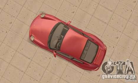 Porsche 911 (997) Carrera S v1.1 для GTA San Andreas