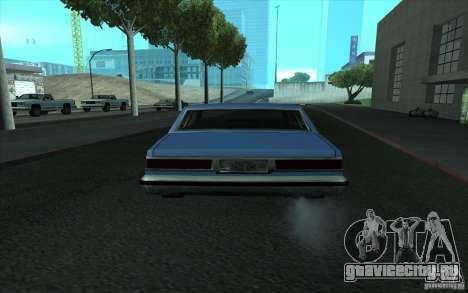 Civilian Police Car LV для GTA San Andreas вид сбоку
