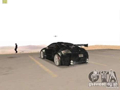 Mitsubishi Eclipse GT NFS-MW для GTA San Andreas вид справа