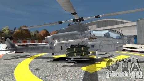Bell AH-1Z Viper для GTA 4 вид слева