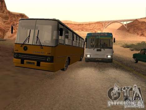 Икарус 280.46 для GTA San Andreas салон