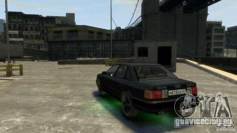 Audi 100 для GTA 4 вид справа