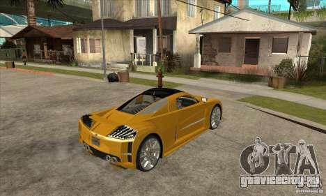 Chrysler ME Four-Twelve Concept для GTA San Andreas вид справа