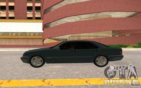 Mercedes Benz E420 W210 для GTA San Andreas вид сзади
