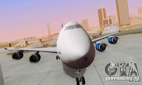 Boeing 747-8F для GTA San Andreas вид справа