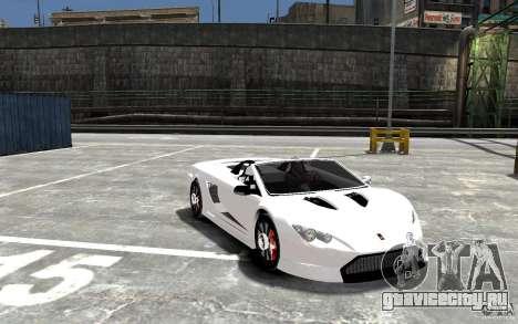 K1 Attack Concept для GTA 4 вид сзади
