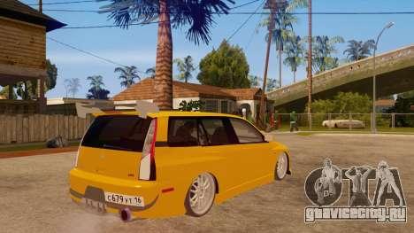 Mitsubishi Lancer Evolution IX Wagon MR Drift для GTA San Andreas вид справа