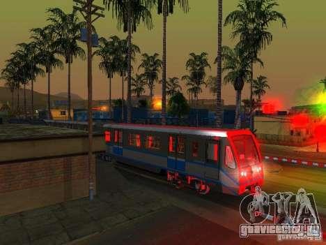 Новый Cигнал Поезда для GTA San Andreas седьмой скриншот