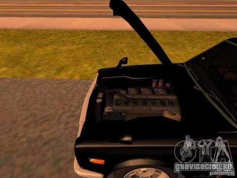 Nissan Skyline 2000GTR для GTA San Andreas вид изнутри