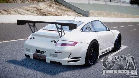 Porsche GT3 RSR 2008 SpeedHunters для GTA 4 вид сверху
