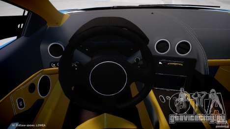 Lamborghini Reventon Polizia Italiana для GTA 4 вид сзади