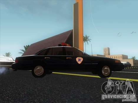 Ford Crown Victoria 1992 Detroit OCP для GTA San Andreas вид справа