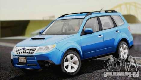 Subaru Forester XT 2008 для GTA San Andreas