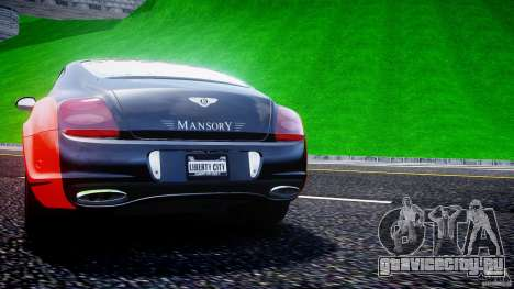 Bentley Continental SS 2010 Le Mansory [EPM] для GTA 4 колёса