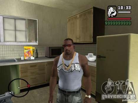 Майка с логотипом нашего любимого сайта для GTA San Andreas второй скриншот