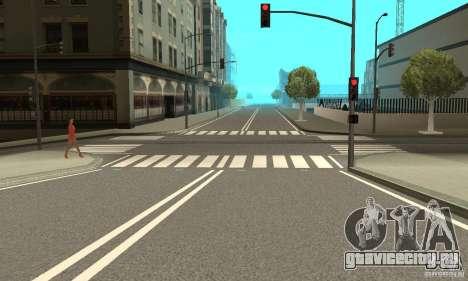 New Streets v2 для GTA San Andreas