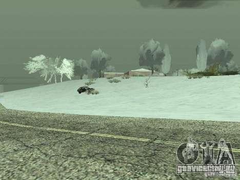 Frozen bone country для GTA San Andreas четвёртый скриншот