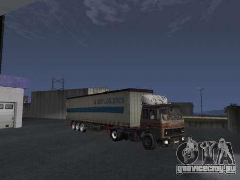 МАЗ 5551 Колхоз для GTA San Andreas вид снизу