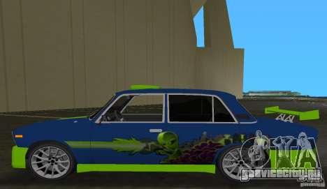 ВАЗ 2106 Tuning v3.0 для GTA Vice City вид сзади слева