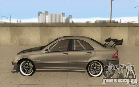 Mercedes-Benz C32 AMG Tuning для GTA San Andreas вид слева