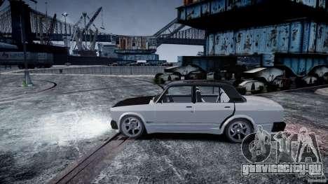 ВАЗ 2107 Drift для GTA 4 вид справа