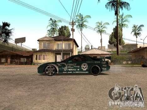 Mazda RX-7 Pro Street для GTA San Andreas вид слева