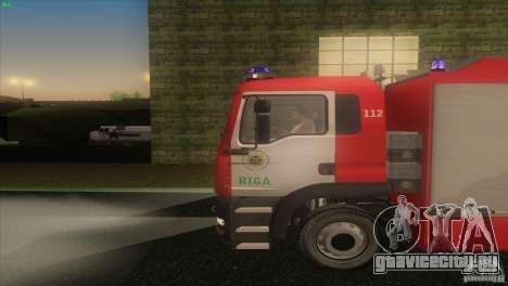 MAn TGL Рижская ПЧ для GTA San Andreas вид слева