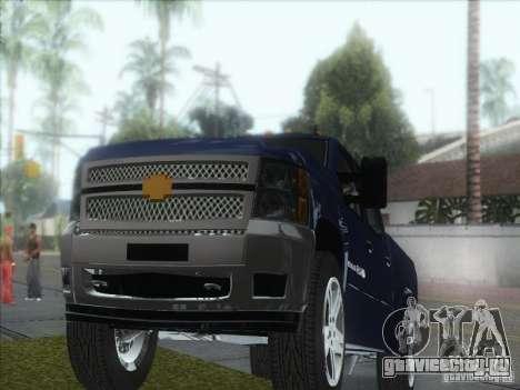 Chevrolet Silverado 1500 для GTA San Andreas вид сзади