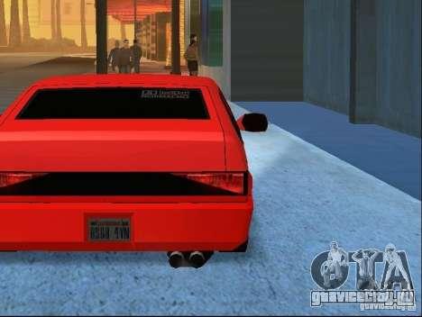 New Blistac для GTA San Andreas вид снизу