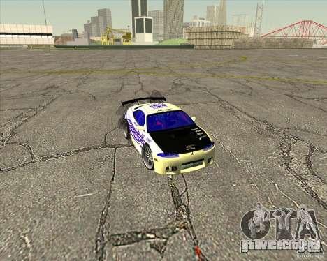 Mitsubishi Eclipse street tuning для GTA San Andreas салон
