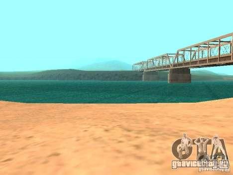 Вода по умолчанию для GTA San Andreas шестой скриншот